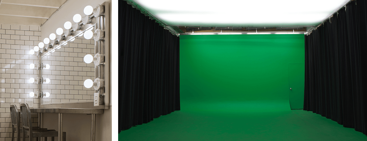 green scren studio