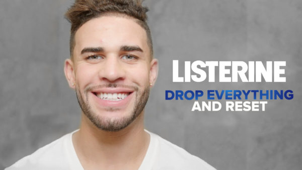 Listerine Nightly Reset with Dom Dwyer